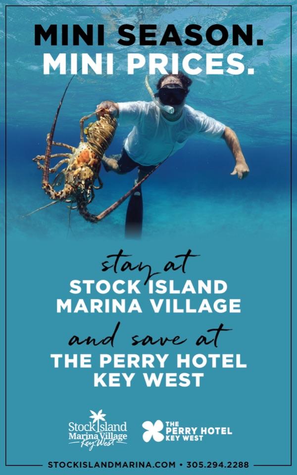 Key West Mini Lobster Season