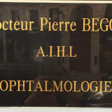 Dr BEGOU, Ophtalmologue à Lyon