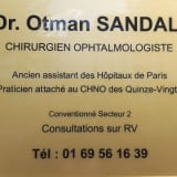 Dr SANDALI, Ophtalmologue à Bourges