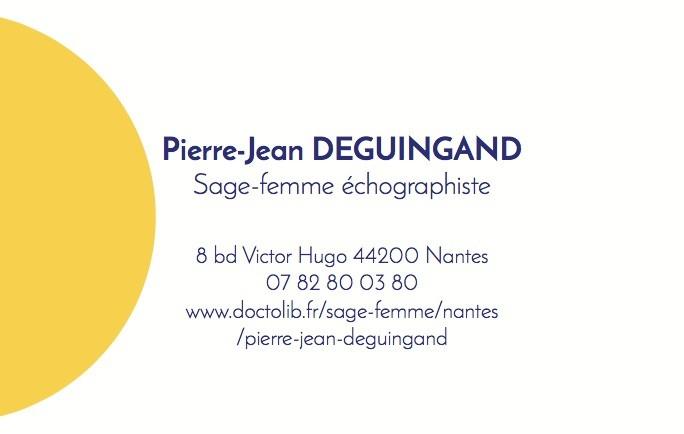 Assez Pierre-Jean DEGUINGAND, Sage-femme à Nantes : Prenez RDV en ligne KZ47