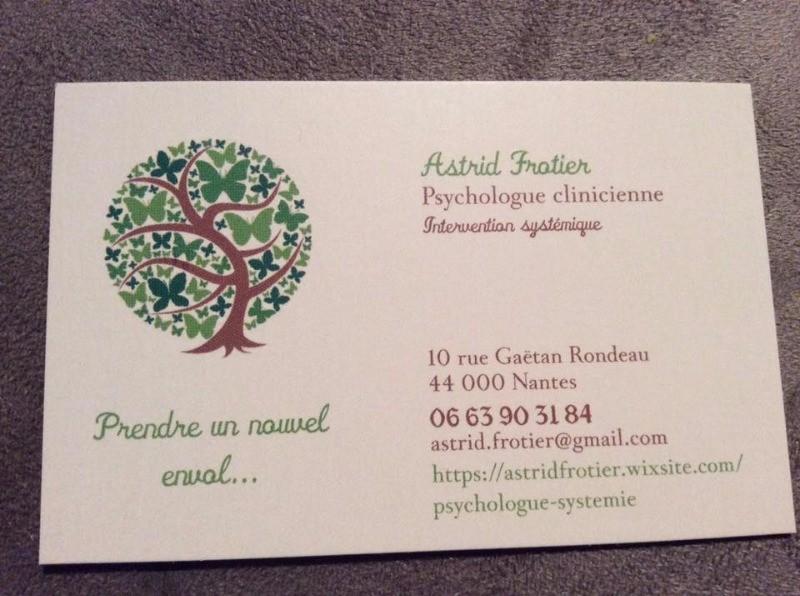 71 Carte Visite Psychologue