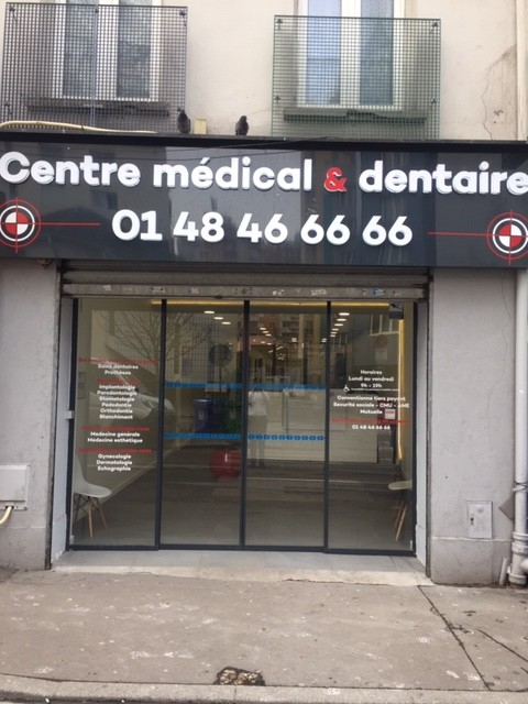 centre dentaire pantin