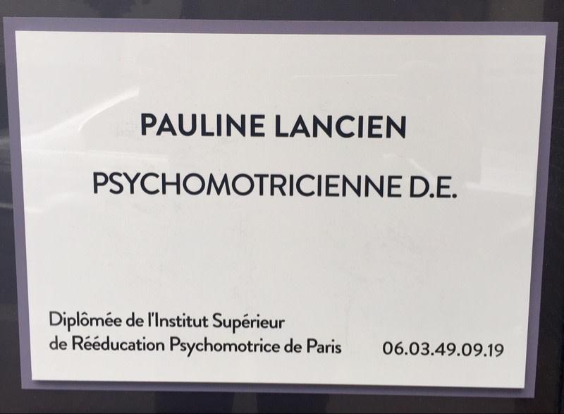 Pauline LANCIEN Psychomotricien A Paris Prenez Rendez Vous En Ligne
