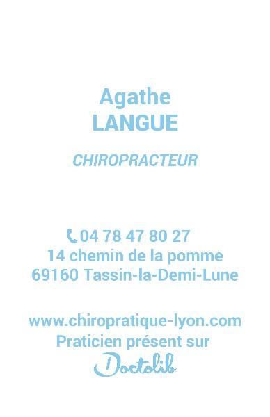Anne Sophie Thiebaut Chiropracteur A Tassin La Demi Lune