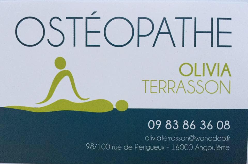 Olivia TERRASSON, Ostéopathe à Angoulême   Prenez rendez-vous en ligne 6b7422553566