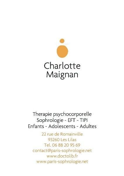Charlotte MAIGNAN Sophrologue A Le Pre Saint Gervais