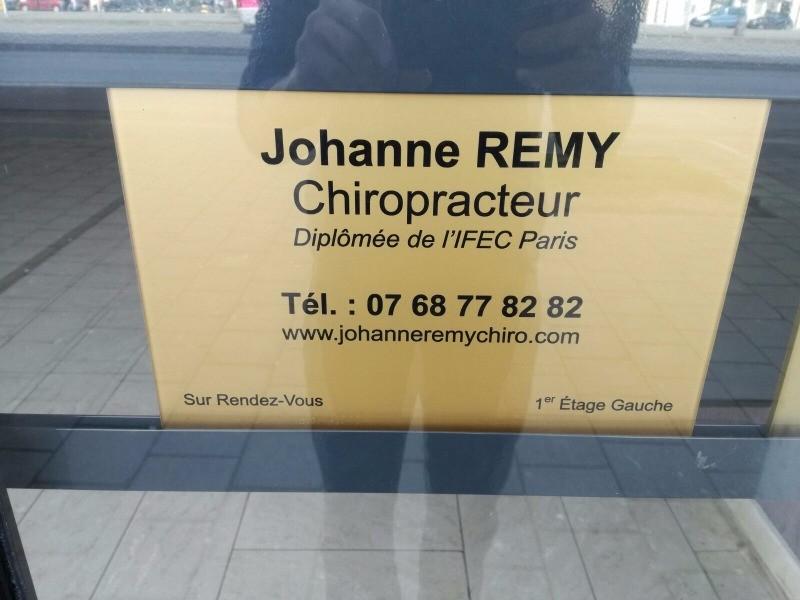 Johanne REMY Chiropracteur A Bussy Saint Georges