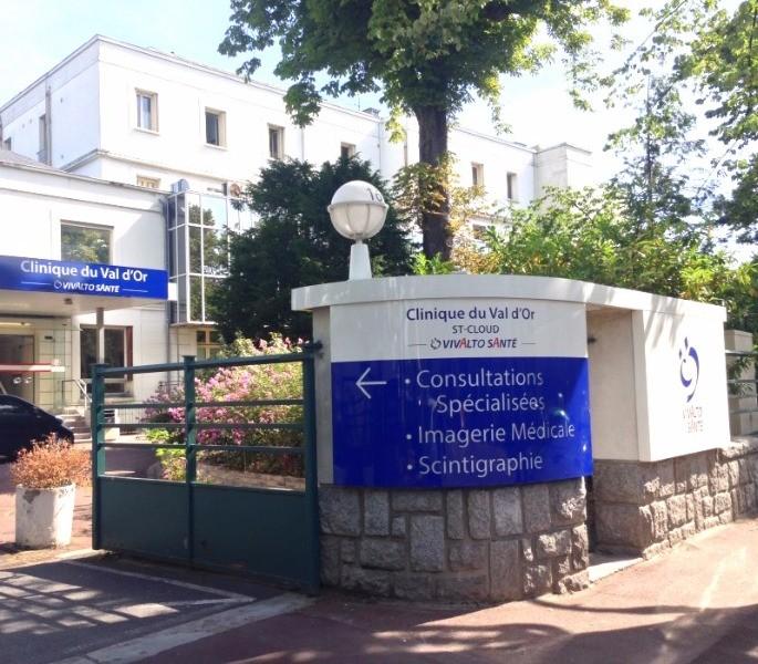 Clinique du val d 39 or clinique priv e saint cloud for La poste porte de saint cloud