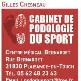 G. Chesneau  , Podologue du sport à Plaisance-du-Touch
