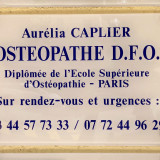 A. Caplier, Ostéopathe à Chantilly