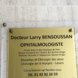 Dr BENSOUSSAN, Ophtalmologue à Paris 19