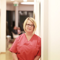 B. Bangel, Prophylaxeassistentin in Berlin