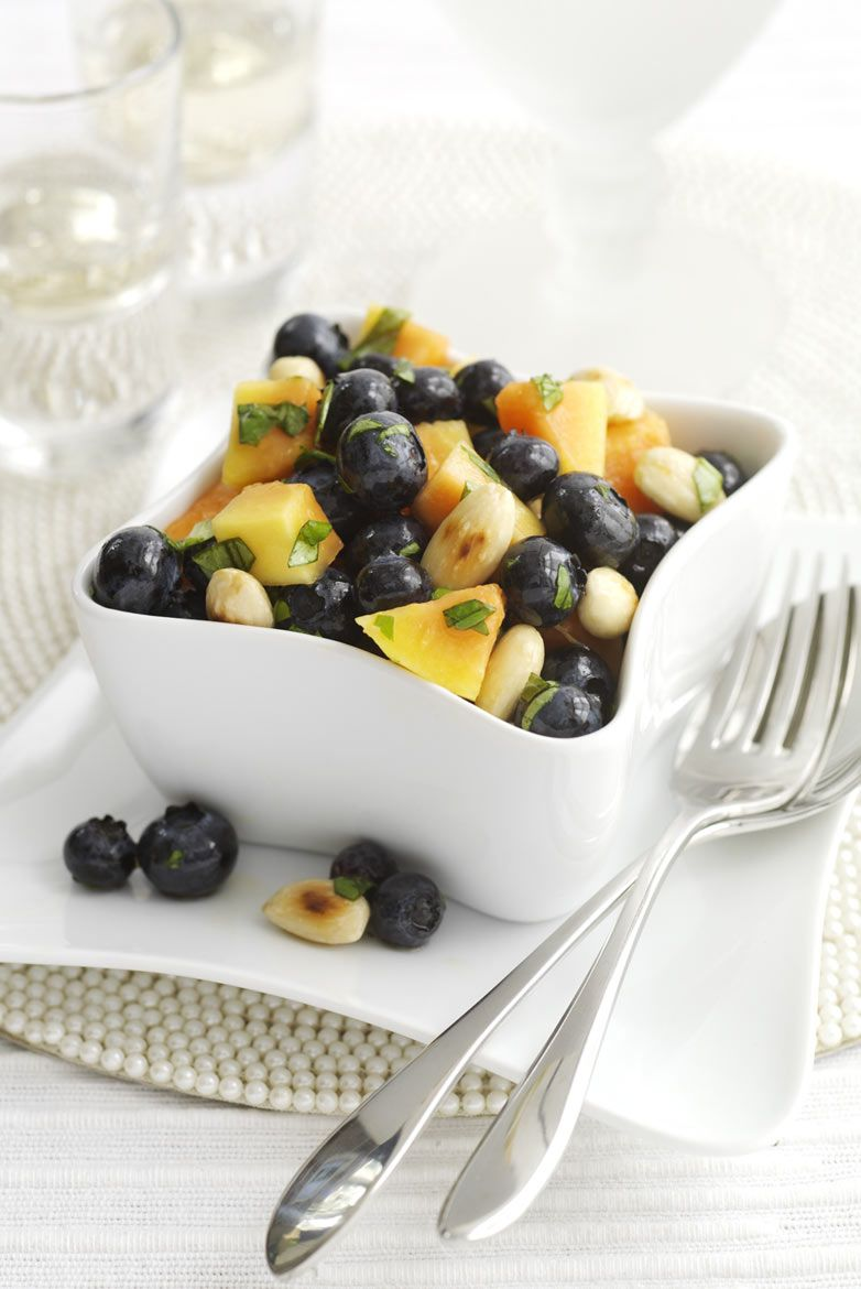 Fruit salad for a recipe book used by Quarto Publishing