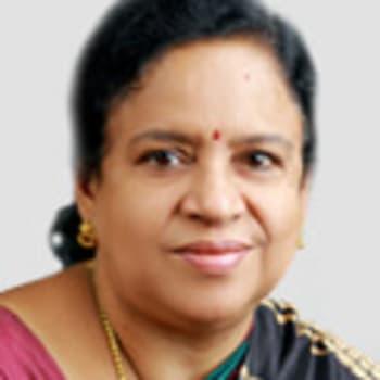 Gynaecologist in Thiruvananthapuram  -  Dr. Jhansi K P