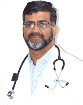 Oncologist in Chennai  -  Dr.Syed Afroze Hussain