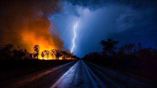 Thunder and Lightning!