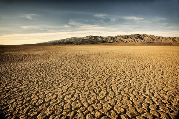 Why are some places in California drier than others?