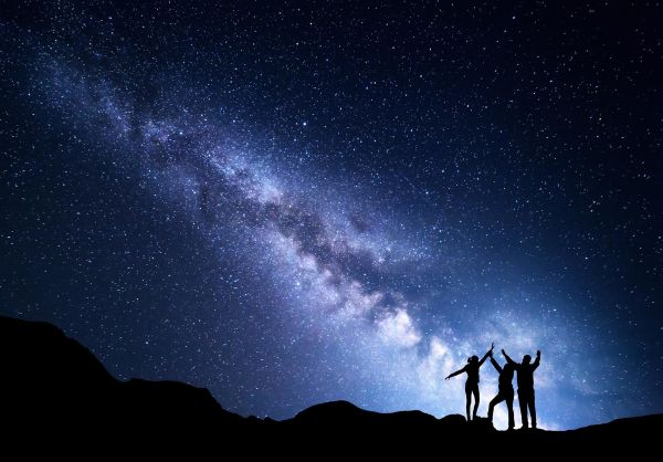 Why do we see the stars at night, and the Sun during the daytime?