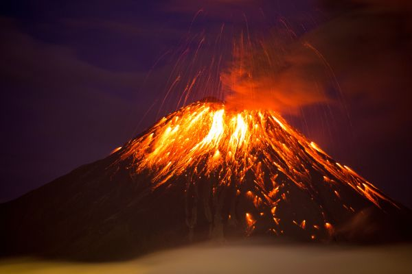 Are Volcanoes to Blame?