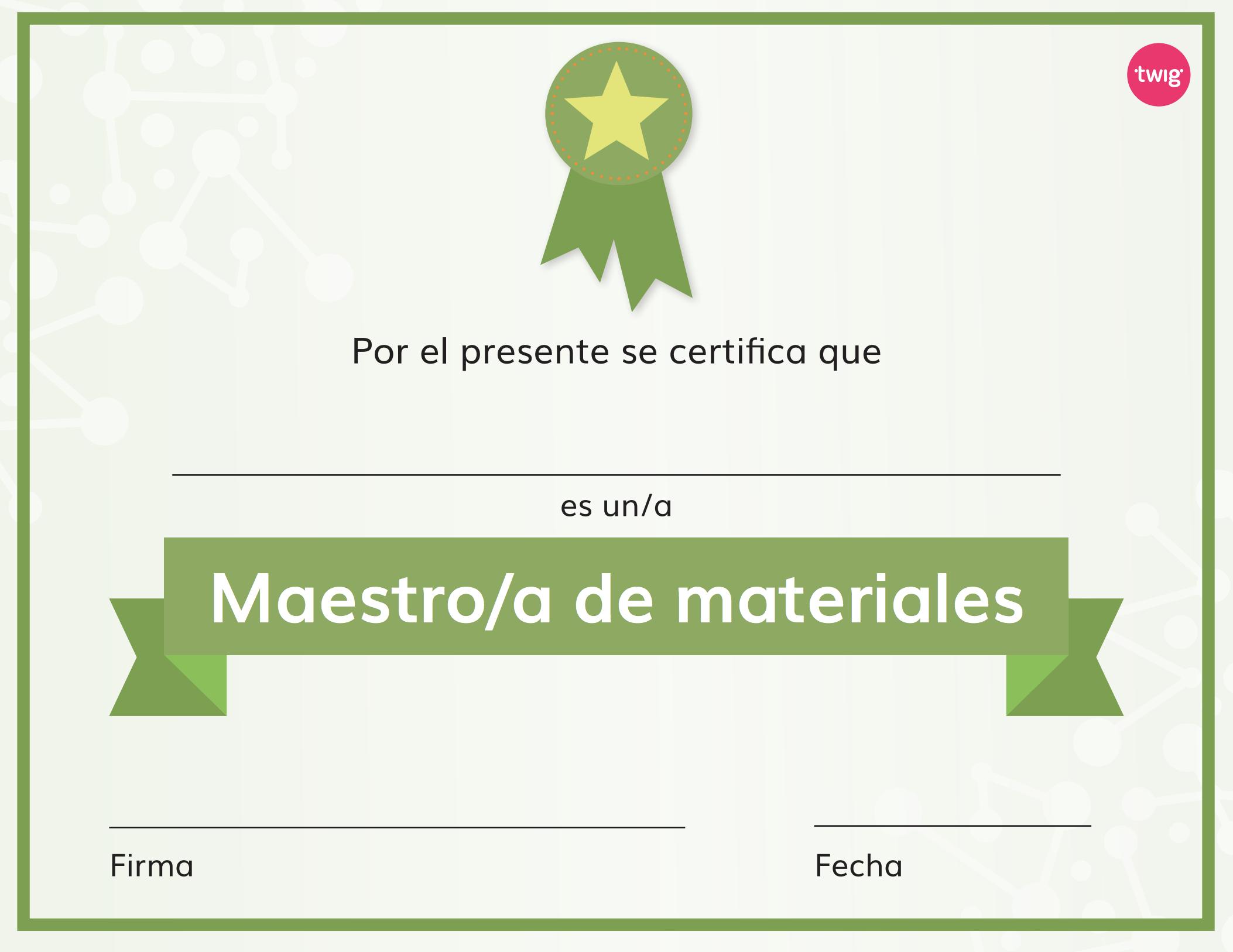 Ficha Certificado de maestros de materiales