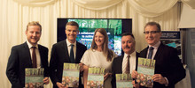 L to R: Ben Davies (LRS), Mark Harper MP, Michelle Norman (LRS), Frank McGuiness (LRS), and Mark Pawsey MP