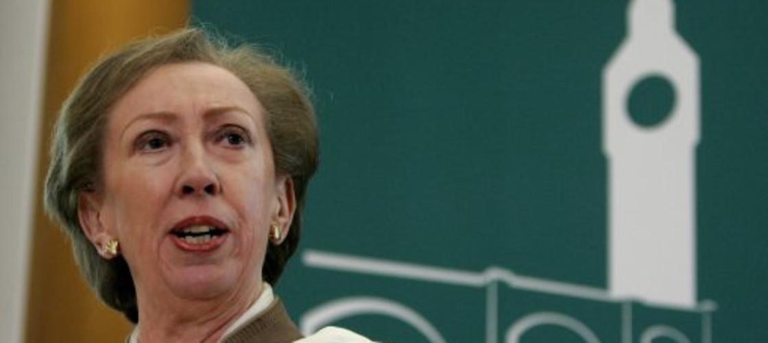 Former foreign secretary Margaret Beckett