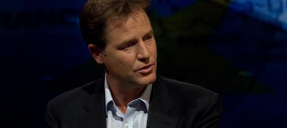 Nick Clegg on BBC Newsnight, 13/10/15