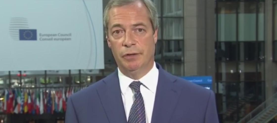 Ukip leader Nigel Farage on Sky News, 25/06/15