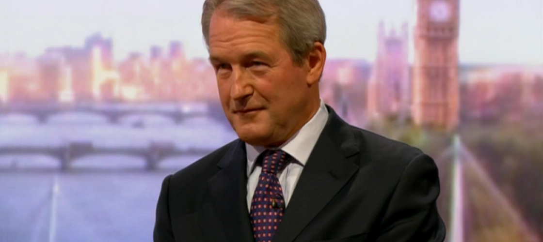 Owen Paterson on the Andrew Marr Show
