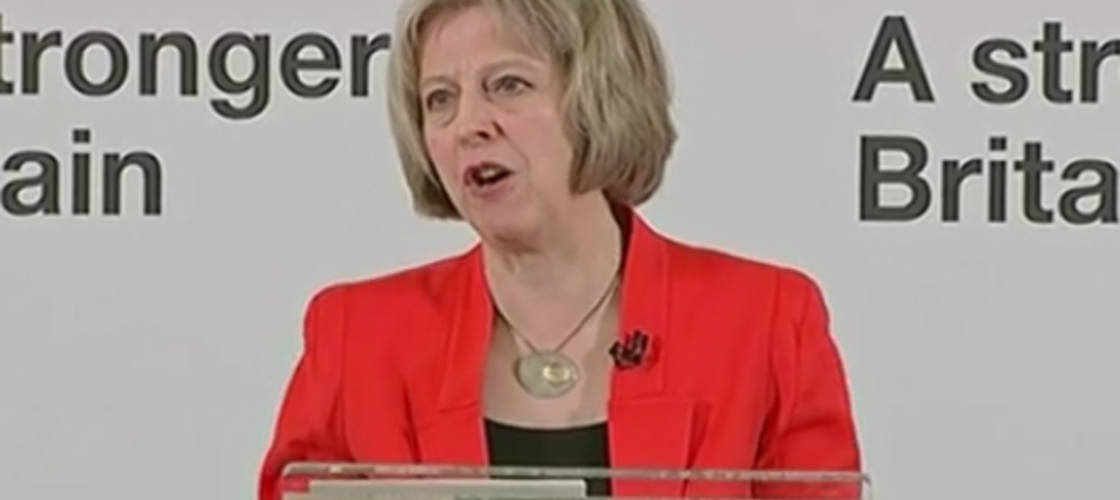 Home Secretary Theresa May, March 2015