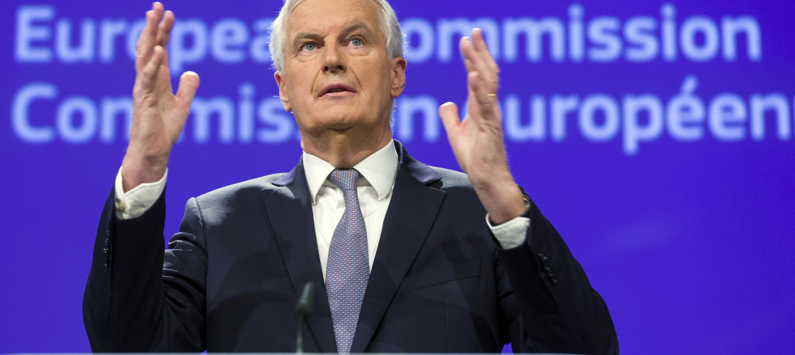 The EU's chief Brexit negotiator, Michel Barnier