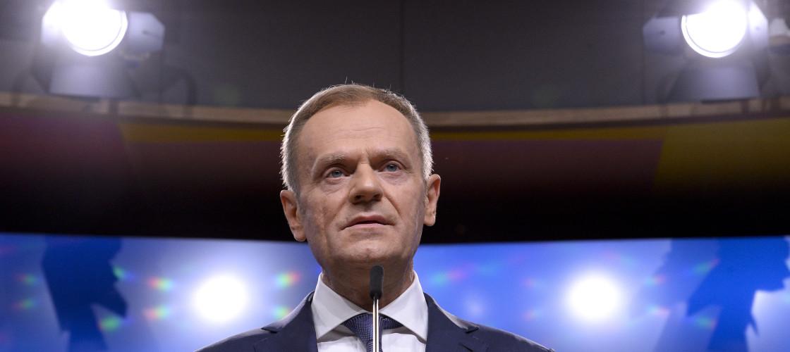 European Council preident Donald Tusk