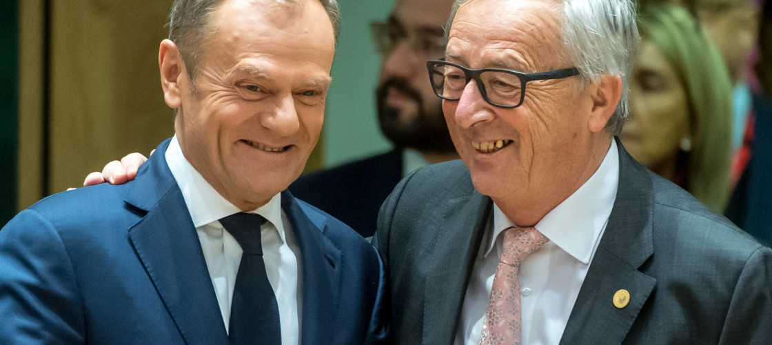 Donald Tusk and Jean-Claude Juncker said Brexit was still reversible.