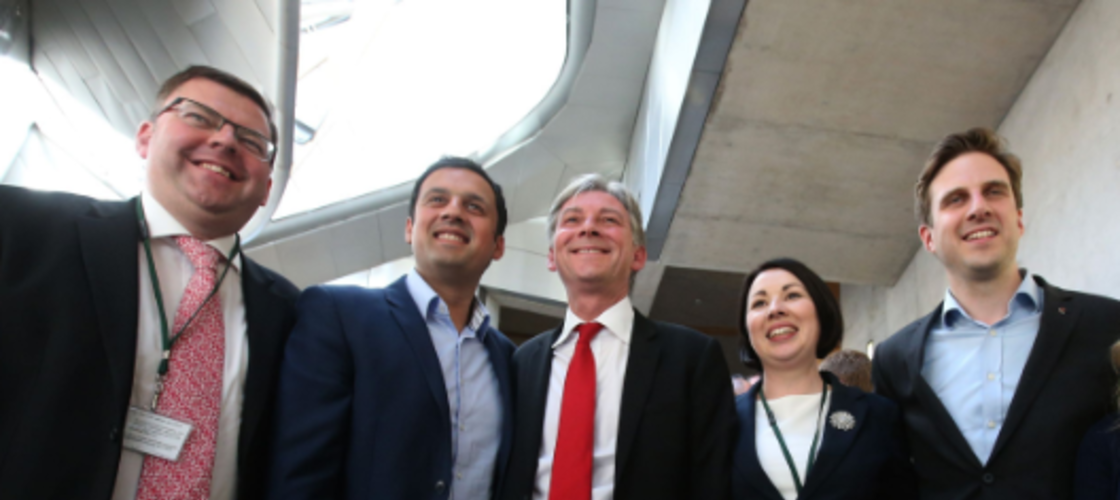 Anas Sarwar and Richard Leonard