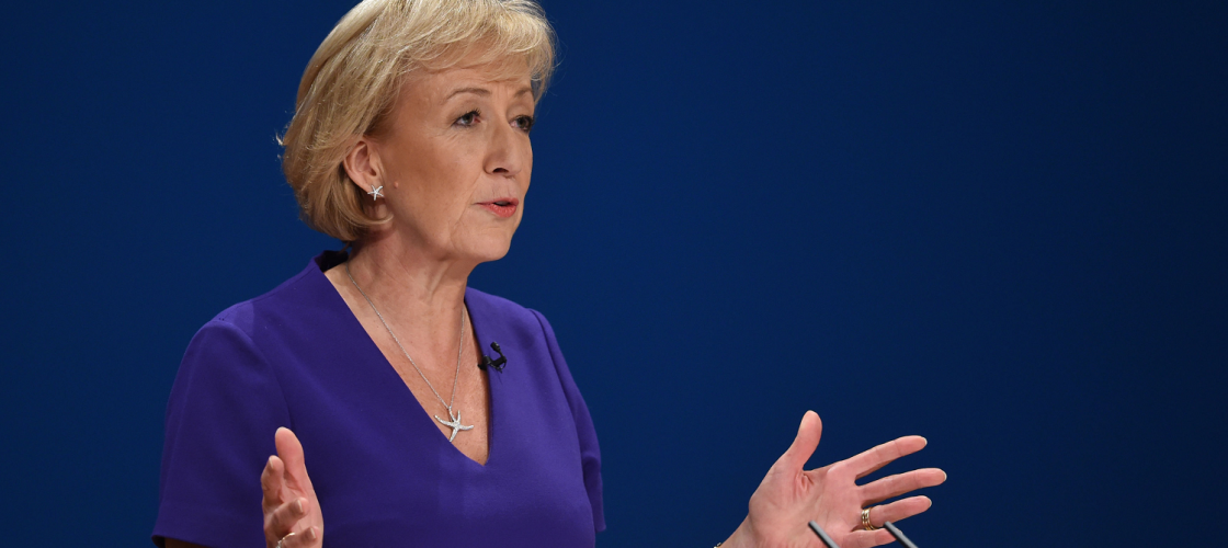 Andrea Leadsom at the 2016 Conservative party conference