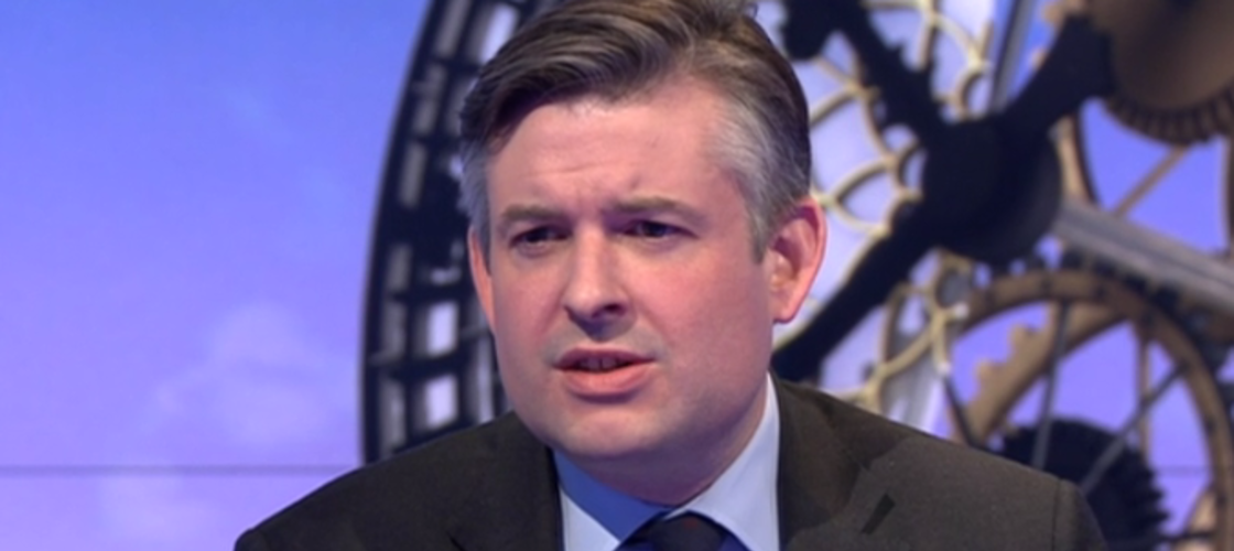 Jon Ashworth on the Sunday Politics