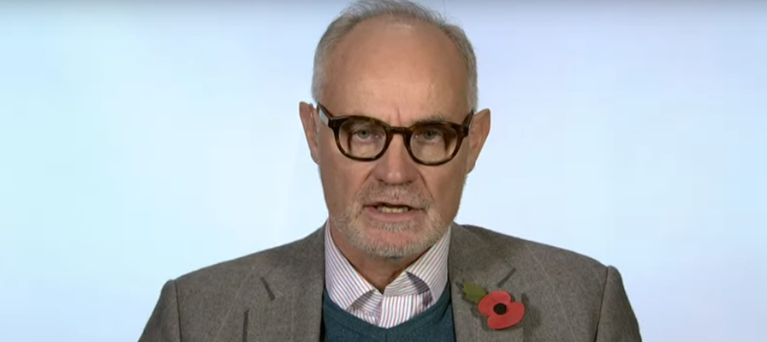 Crispin Blunt speaking to Sky News this morning