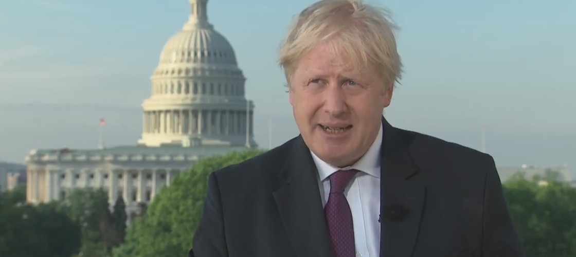 Boris Johnson in Washington