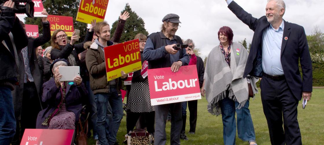Jeremy Corbyn in Harlow