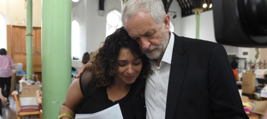 Jeremy Corbyn Grenfell fire