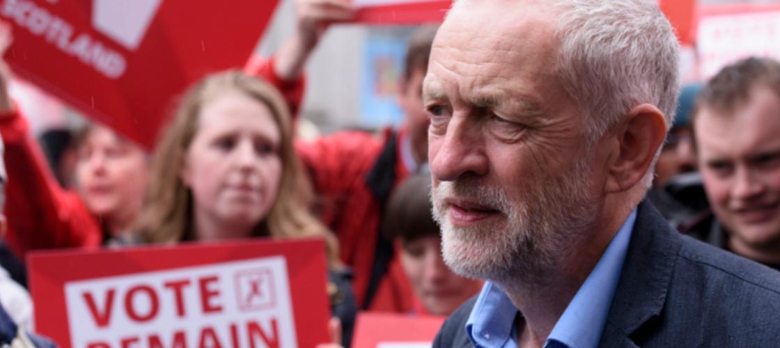 Jeremy Corbyn Remain campaign