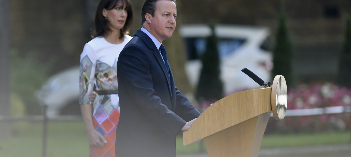 David Cameron announces his resignation as Prime Minister