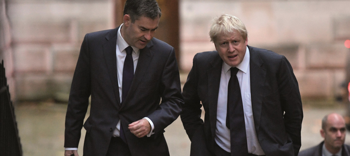 DWP Secretary David Gauke and Foreign Secretary Boris Johnson
