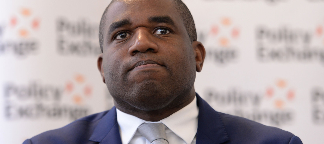 Tottenham MP David Lammy