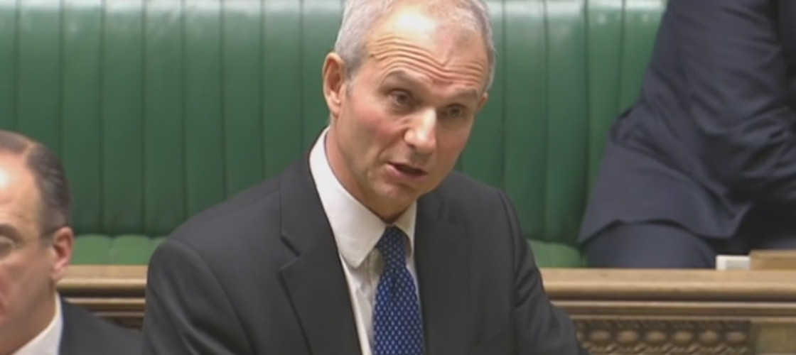 David Lidington in the House of Commons, 01/12/16