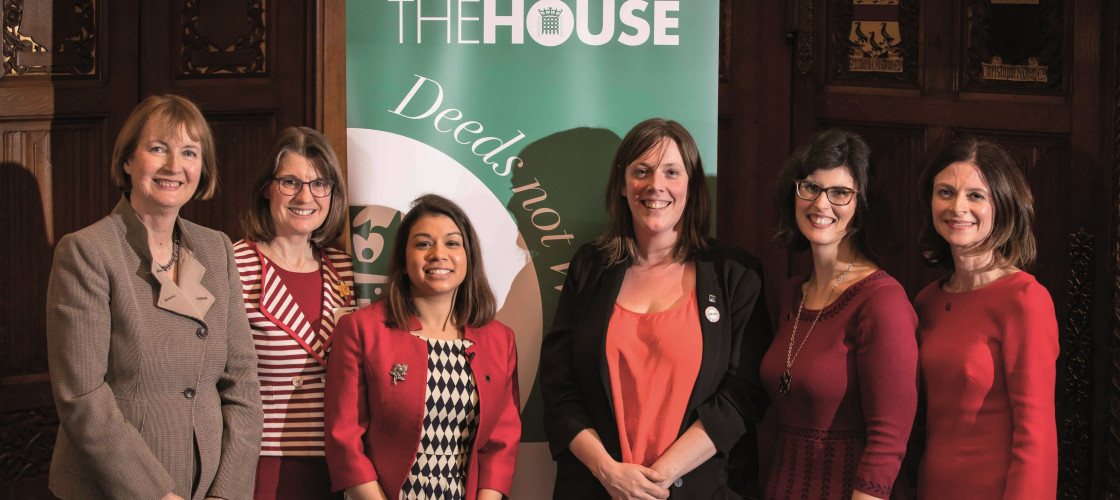 Harriet Harman, Rachel Maclean, Tulip Siddiq, Jess Phillips, Layla Moran and Seema Kennedy