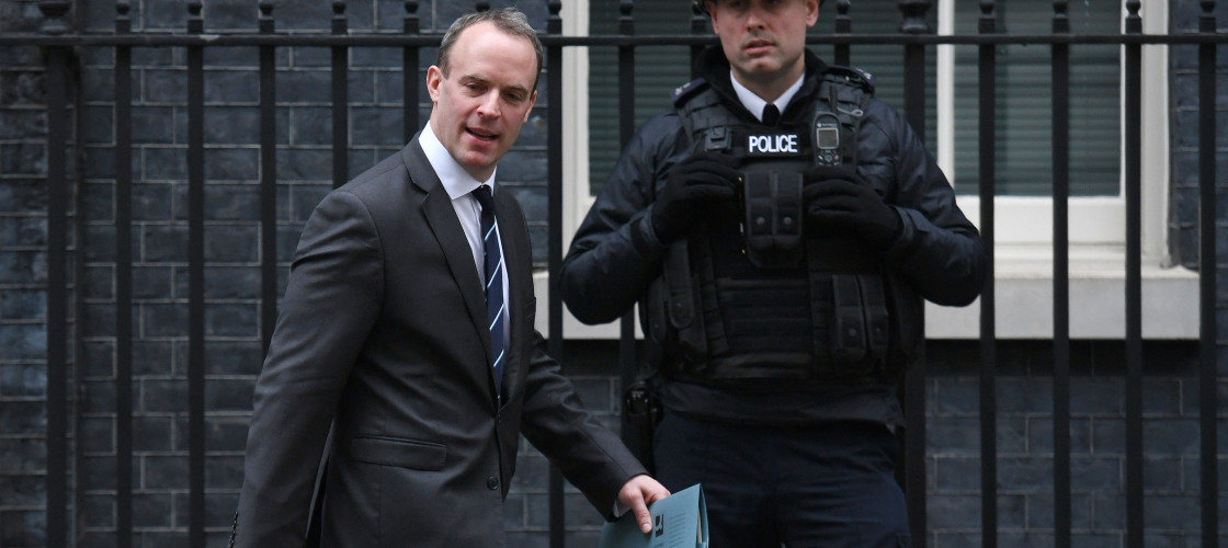 Dominic Raab is a minister in the Ministry for Housing, Communities and Local GovernmentDominic Raab is a minister in the Ministry for Housing, Communities and Local Government