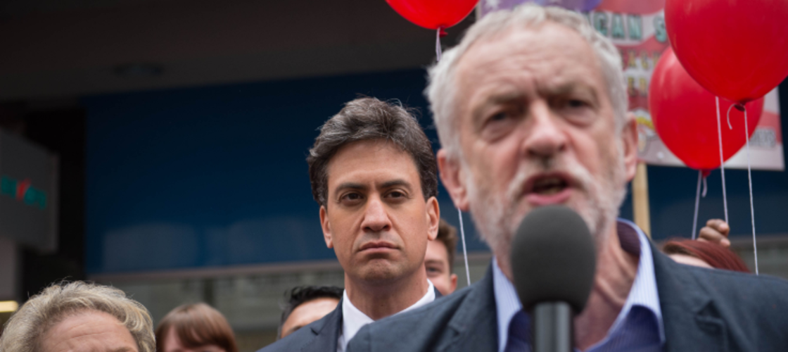 Ed Miliband and Corbyn