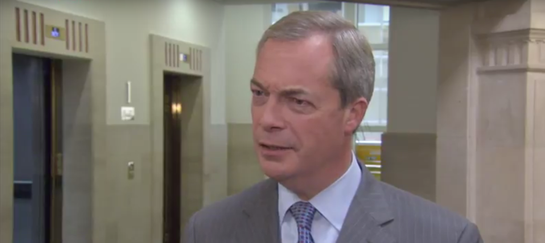Nigel Farage to rejoin Tories?