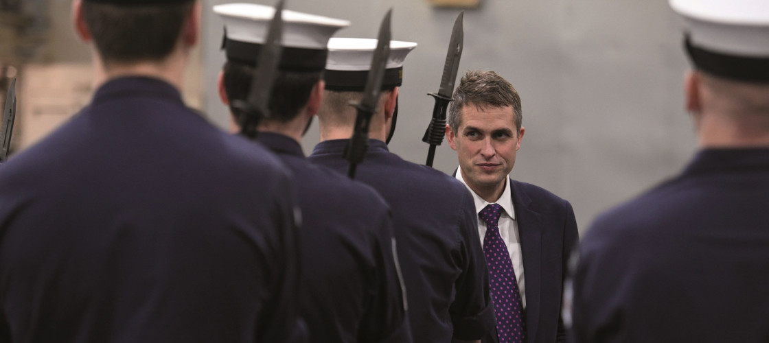 "Defence Secretary Gavin Williamson has called the 2% of GDP spending on defence a ""floor"""